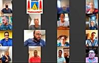 """1ª de MG: Câmara de Itabirito faz reunião por videoconferência; Vereadores  aprovam """"emergência"""""""