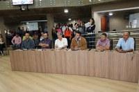 Audiência Pública de lançamento da revisão do Plano Diretor, promovida pela PMI, é realizada no Plenário da Câmara Municipal de Itabirito.