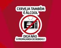"""Deputado Antônio Jorge apresenta a campanha """"Cerveja também é álcool"""" na Câmara Municipal de Itabirito."""