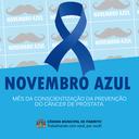 Novembro Azul: Mês da Conscientização da Prevenção do Câncer de Próstata.