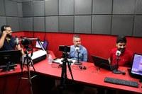 Em entrevista ao vivo, presidente da Câmara de Itabirito faz balanço dos trabalhos