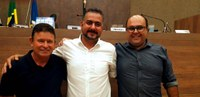 Renê, Toninho e Geraldo assumirão a Mesa Diretora da Câmara de Itabirito em 2020; VÍDEO