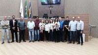 """Representantes do """"Projeto Presença"""" promovem a valorização e o respeito do direito das crianças na Câmara Municipal de Itabirito."""