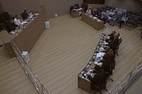 Vereadores de Itabirito discutem transporte escolar em reunião