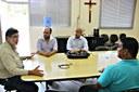 Em reunião na firma, vereadores pedem à Herculano que seja priorizada mão de obra de Itabirito